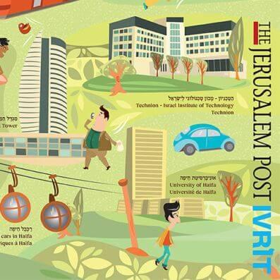 מפת חיפה – ג'רוזלם פוסט